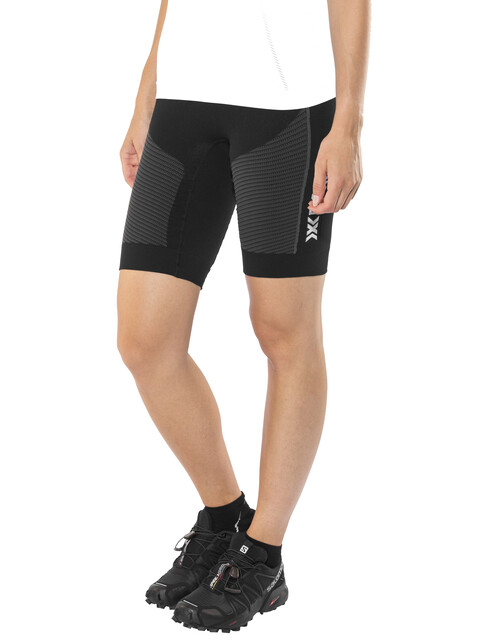X-Bionic Running Speed EVO OW  Løbeshorts Damer grå/sort